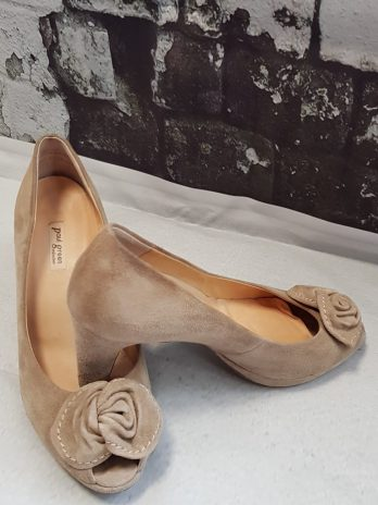 Peeptoes Paul Green 37,5 in Beige