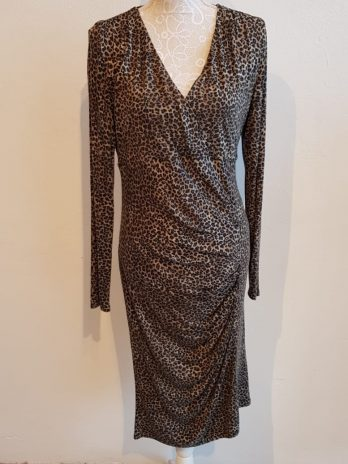 Animal Print Kleid Jones Größe 42