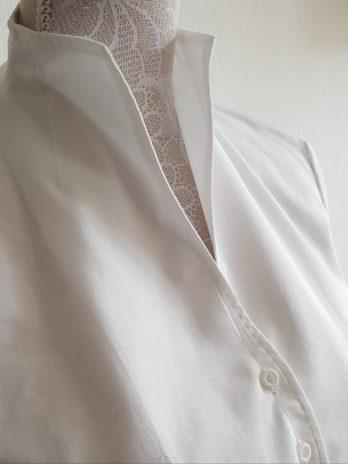 Bluse Franco Callegari Größe 38 in Weiß NEU!