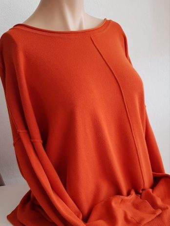 Jones Pullover Orange Größe 38
