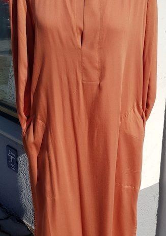 Kleid YAYA Größe 38 in Cognac