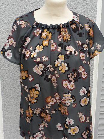 Shirt Taifun Größe 38 in Grün/Floral