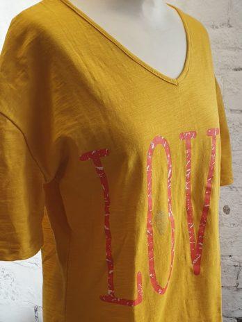 Miss Look Shirt Größe Medium in Gelb Neu