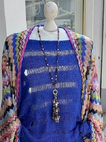 Pullover Größe 36/38 in Blau