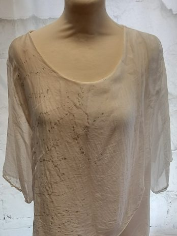 Aust Shirt Größe Small/Medium in Beige