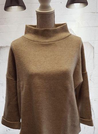 Pullover Opus Größe 38 in Beige