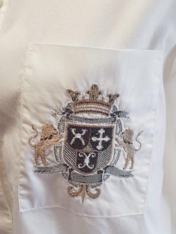 Bluse Drykorn Größe 38 in Weiß