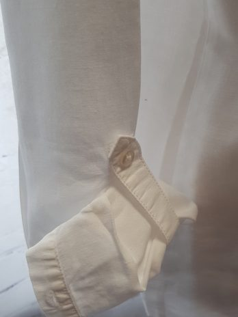 Bluse Opus Größe 40 in Weiß