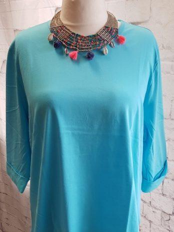 Shirt NEU! Größe 50 in Türkis