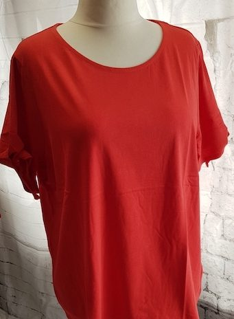 Shirt NEU! Größe 48 in Korallenrot