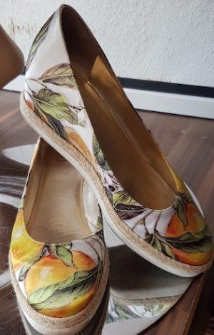 Schuhe Högl Größe 38,5 in Bunt aus