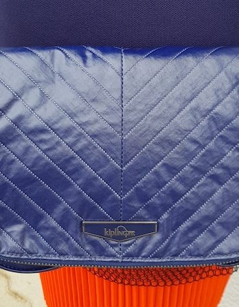 Tasche Kipling in Blau