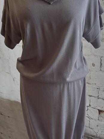 Kleid Boss Orange Größe 36 in Grau
