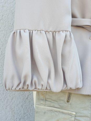 Blazer Zara Größe Medium in Sand