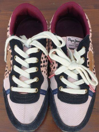 Sneakers Pepe Jeans Größe 37 in Rosa aus Leder