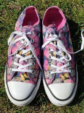Bunte Converse Schuhe Größe 38