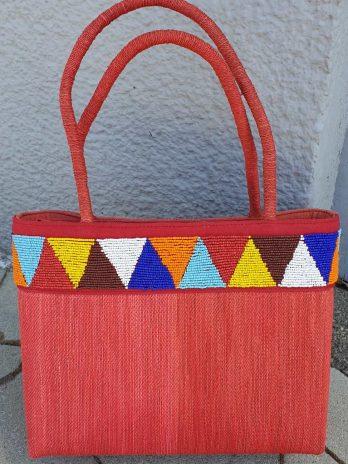 Bunte Tasche aus Textil
