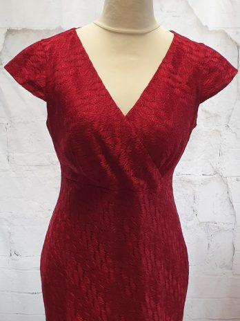 Kleid Comma, Größe 40 in Rot