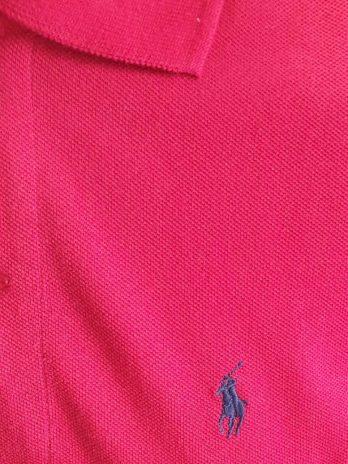 Ralph Lauren Poloshirt Small in Rot