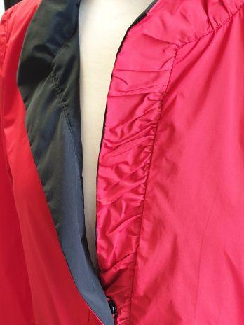 Longblazer Rianni Größe 34 in Schwarz/Rot
