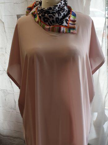 Samoon Shirt Größe 44 in Rosa