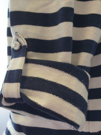 Blau/Weißes Shirt Größe 42