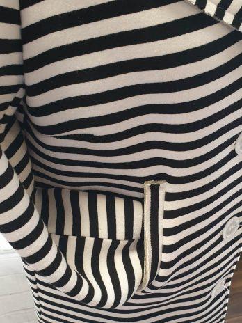 Blazer Susy Mix Größe 38 in Schwarz/Weiß