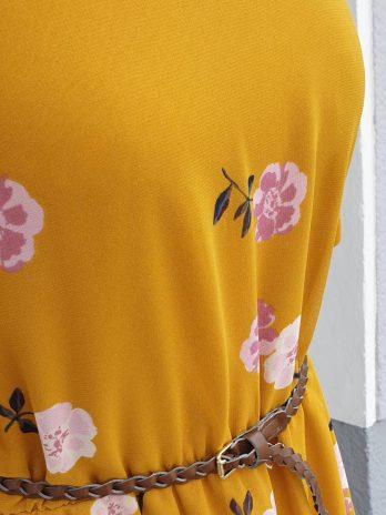 Kleid Vero Moda Größe Medium in Gelb NEU