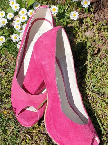 Lederschuhe Andrea Conti Größe 38 in Pink