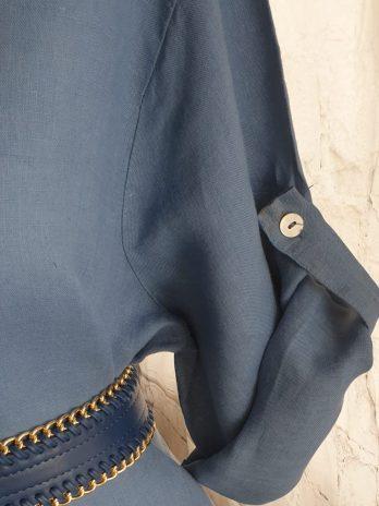 Kleid Italian Style Größe Large in Blau