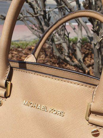Michael Kors Tasche Beige