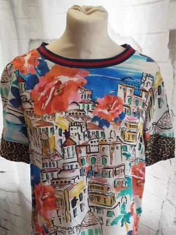 Buntes Shirt Größe 36