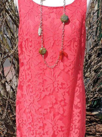Kleid S.Oliver Größe 40 in Koralle