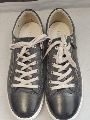 Fraiche Leder Sneaker Größe 41 in Anthrazit