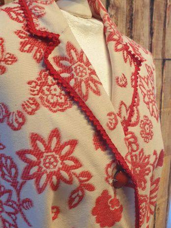 Mantel MOSCHINO Größe 38 in Creme/Rot