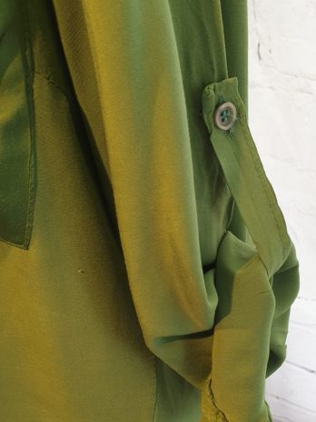 Bluse CJF Fashion Größe Medium in Grün