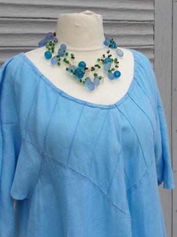 Kleid Bluette Größe 44 in Türkis