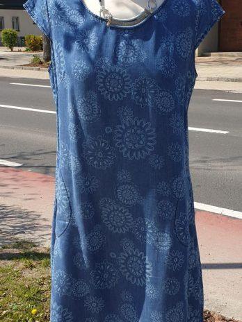 Blaues Kleid Größe 38