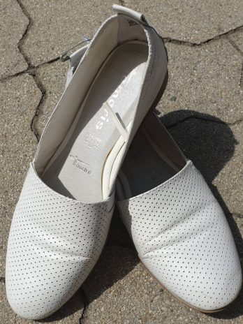 Tamaris Leder Schuhe Größe 37 in Weiß
