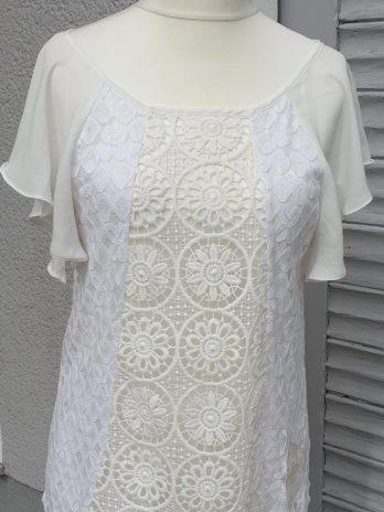 Desigual Shirt Größe Medium in Creme
