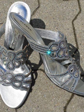 """Schuhe """"Sarrer"""" Größe 37 in Silber"""
