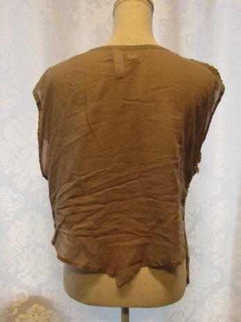 """Shirt Waschleder Il Quatro Style """"Medium"""" in Beige"""
