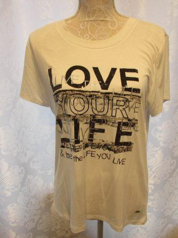 Shirt Jones 38 in Schwarz| Weiß