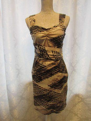 Kleid Jones 36 in Beige  gemustert