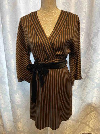 Kleid Souvenir 36 in Braun| Schwarz