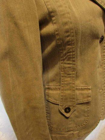 Jeans Jacke 36 in Braun