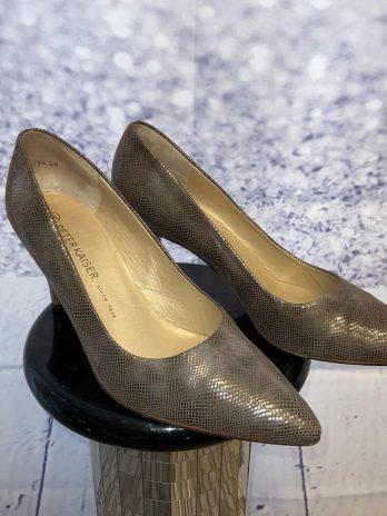 Schuhe Peter Kaiser 7 1|2 in Metallic