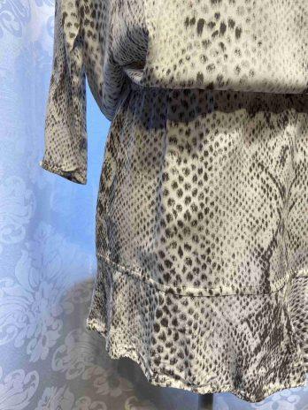 """Kleid Soft Joie """"Small"""" in Grau  Weiß"""