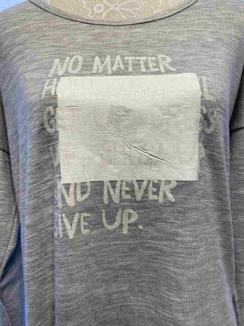 """Shirt Aust """"Medium"""" Grau"""