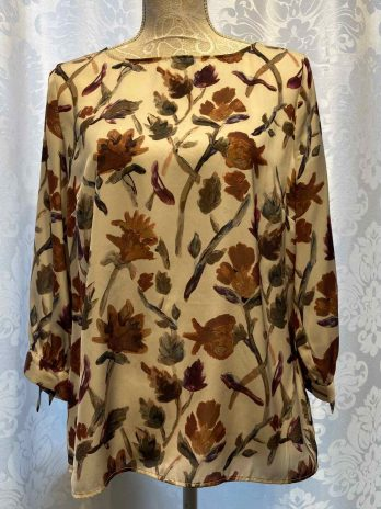 Bluse Sa.Hara 40 in Floral| Beige| Curry